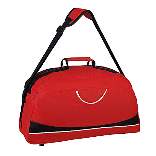 Maleta Sport con bolsa principal y frontal.   Medidas: 47 x 28 x 16 cm