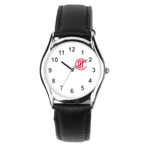 Reloj de pulso con caja metalica plateada, correa de piel ,maquinaria metalica japonesa de alta precision y estuche metalico individual. Medidas Hombre 23.5 x 3.5 cm    Dama 21.5 x2