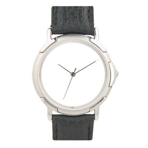 Reloj de pulso con caja, metalica bi-tono, correa de piel, maquinaria japonesa de alta precision y estuche individual. Medidas  Hombre    24 x 3 cm      Dama  21 x 2 cm