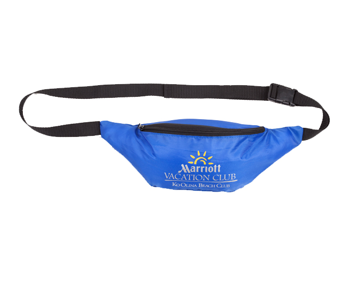 Cangurera Parma , basica con un compartimento, cinta ajustable a la cintura y seguro de presion. Medidas 37 x 13.5 cm