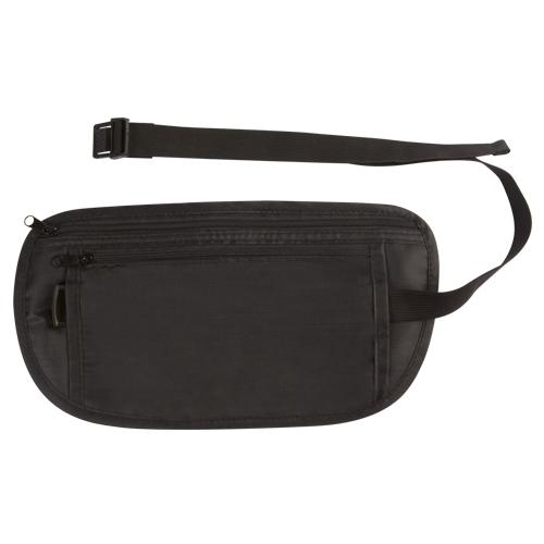 Porta documentos Siero, con compartimiento principal y frontal. incluye elastico para sujetar a la cintura.   Medidas 26 x 13.5 cm