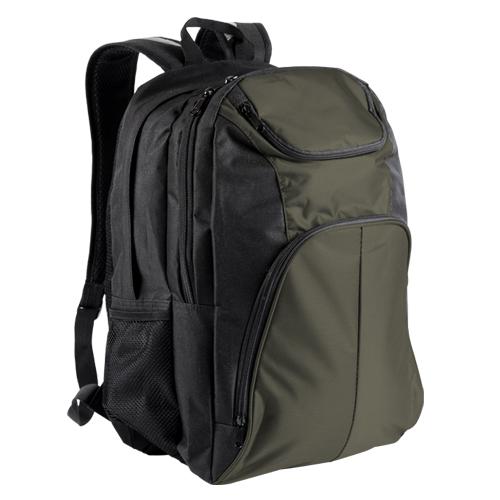 Mochila Nicklaus tipo bag pack con porta-laptop. Medidas 50 x 19 x 29 cm