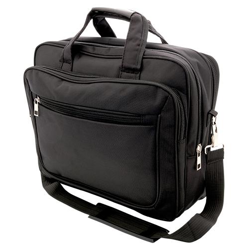 Portafolios con asa y porta laptop. Medidas  29 x 38.5 cm