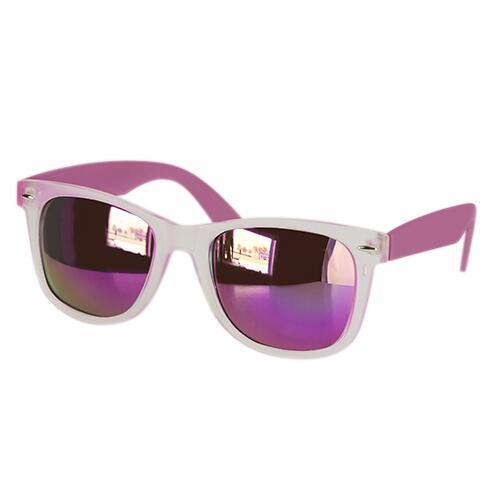 Lentes Mirror, con efecto tornasol y proteccion UV 400. Medidas: 14.5 x 5 cm