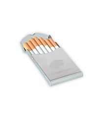 Cigarrera metalica brillante