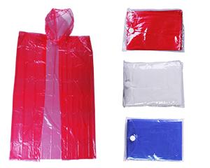 Impermeable de pl�stico, en bolsa port�til, ligero y c�modo para llevar a cualquier lugar medidas:14.5 x 10.5 x 0.3 cm