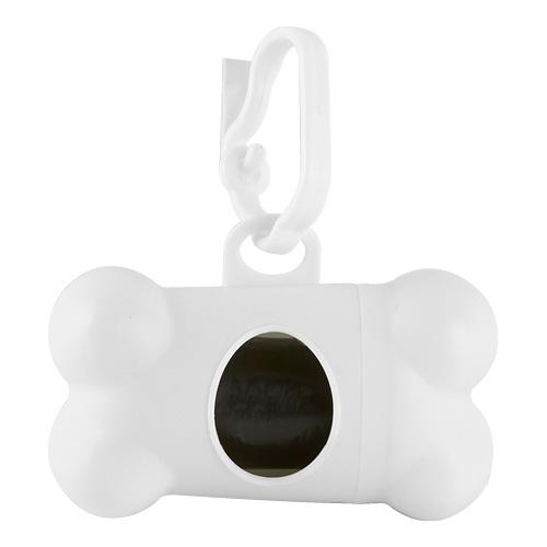 DISPENSADOR BONE (Incluye 20 bolsas de plastico y gancho.) MATERIAL:Plastico medida:8.1 x 4.4 cm
