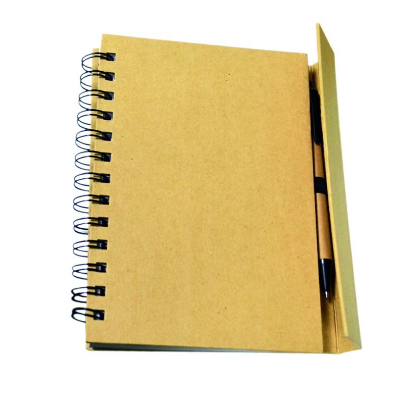 Libreta multifuncional con notas adhesivas y bol�grafo
