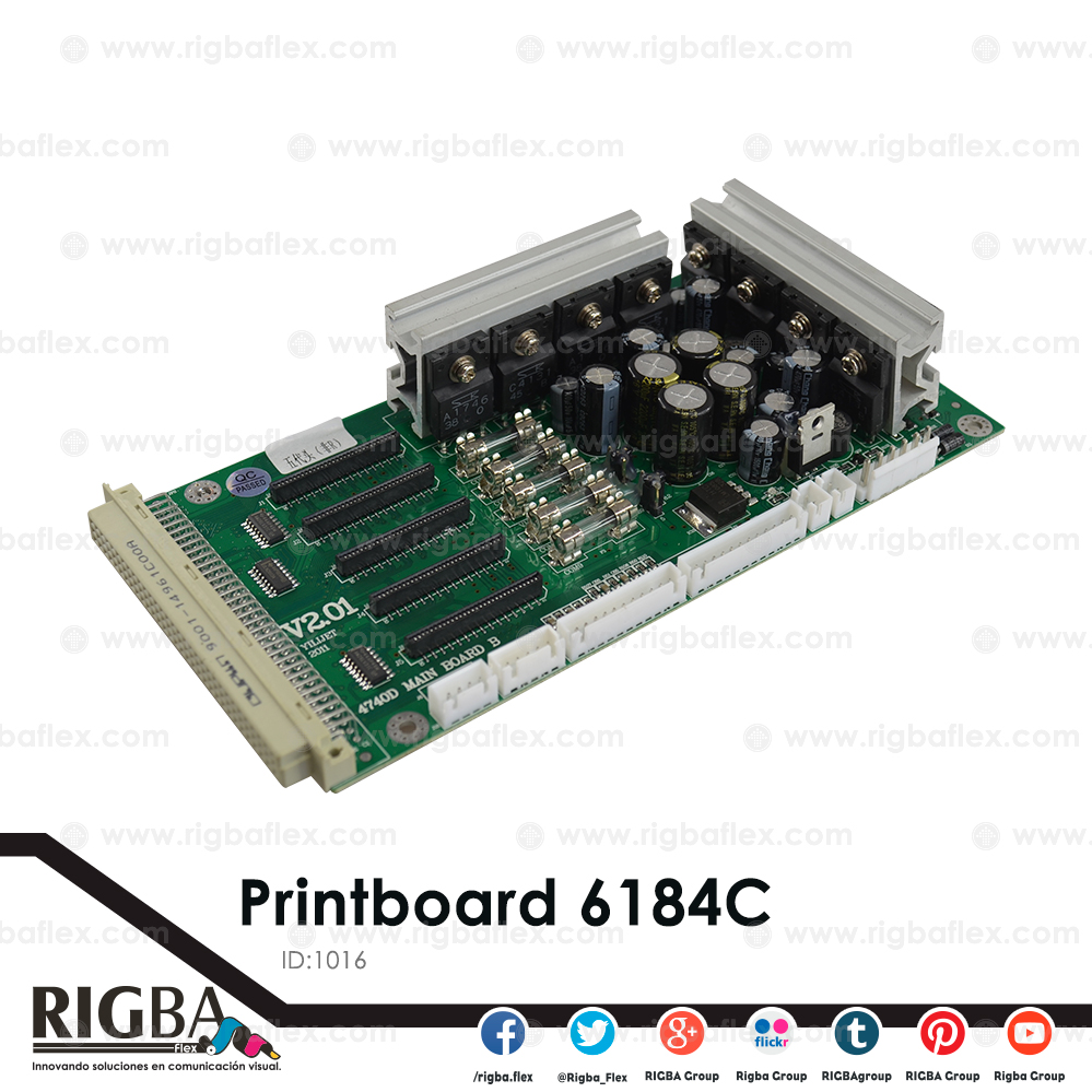 Printboard for 6184C