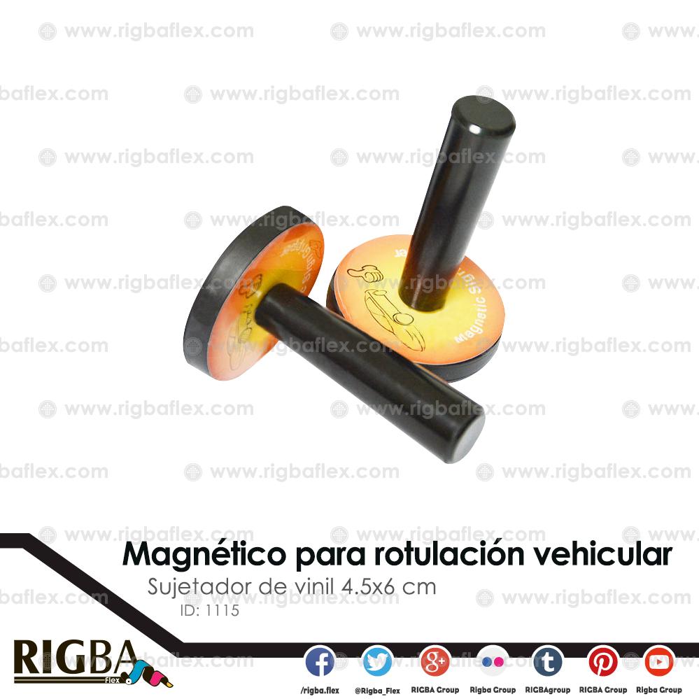 Imán para rotulacion vehicular  4.5x6cm