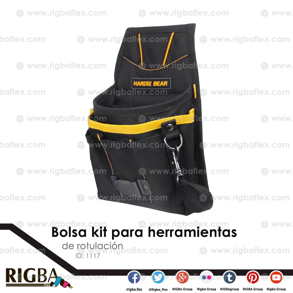 Bolsa kit para herramientas de rotulacion
