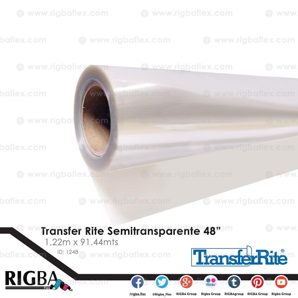 Papel transfer semitransparente 48 Pulg.