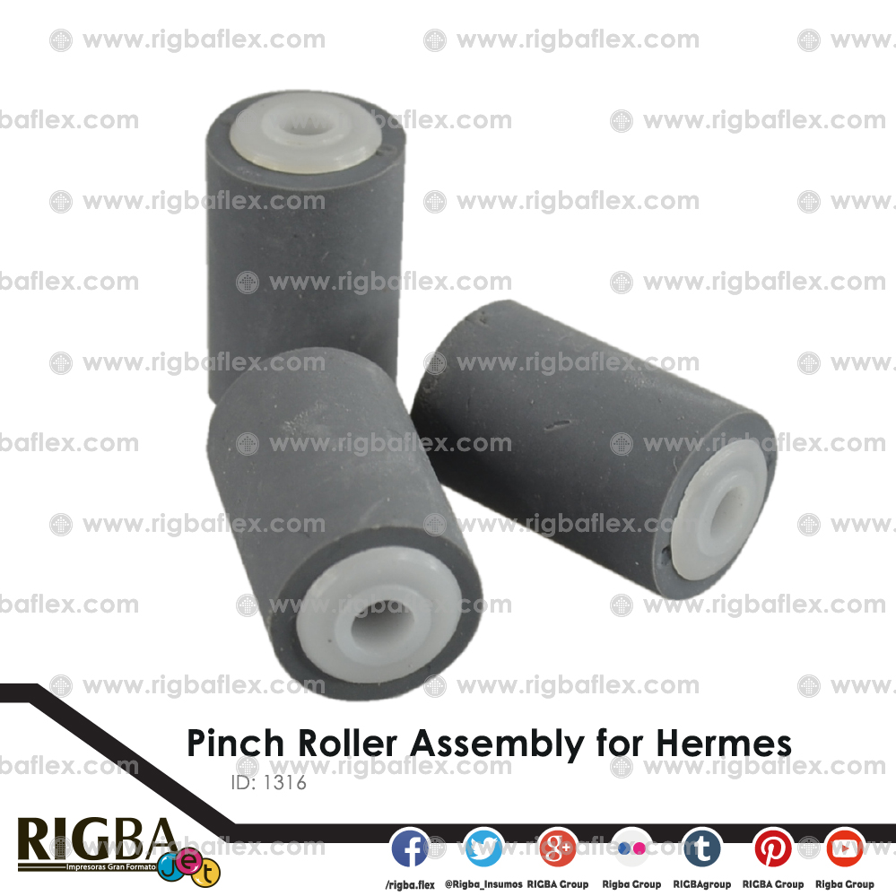 Pinch�Roller Assembly for Hermes