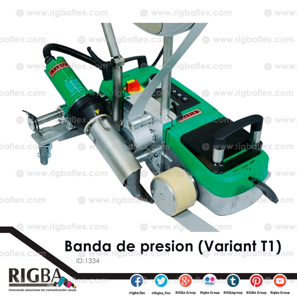 Banda de presion verde para Variant T1