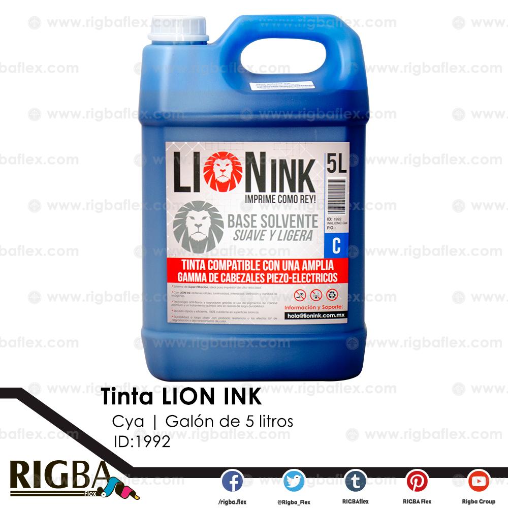 RIGBA Lion Ink Cyan Galon