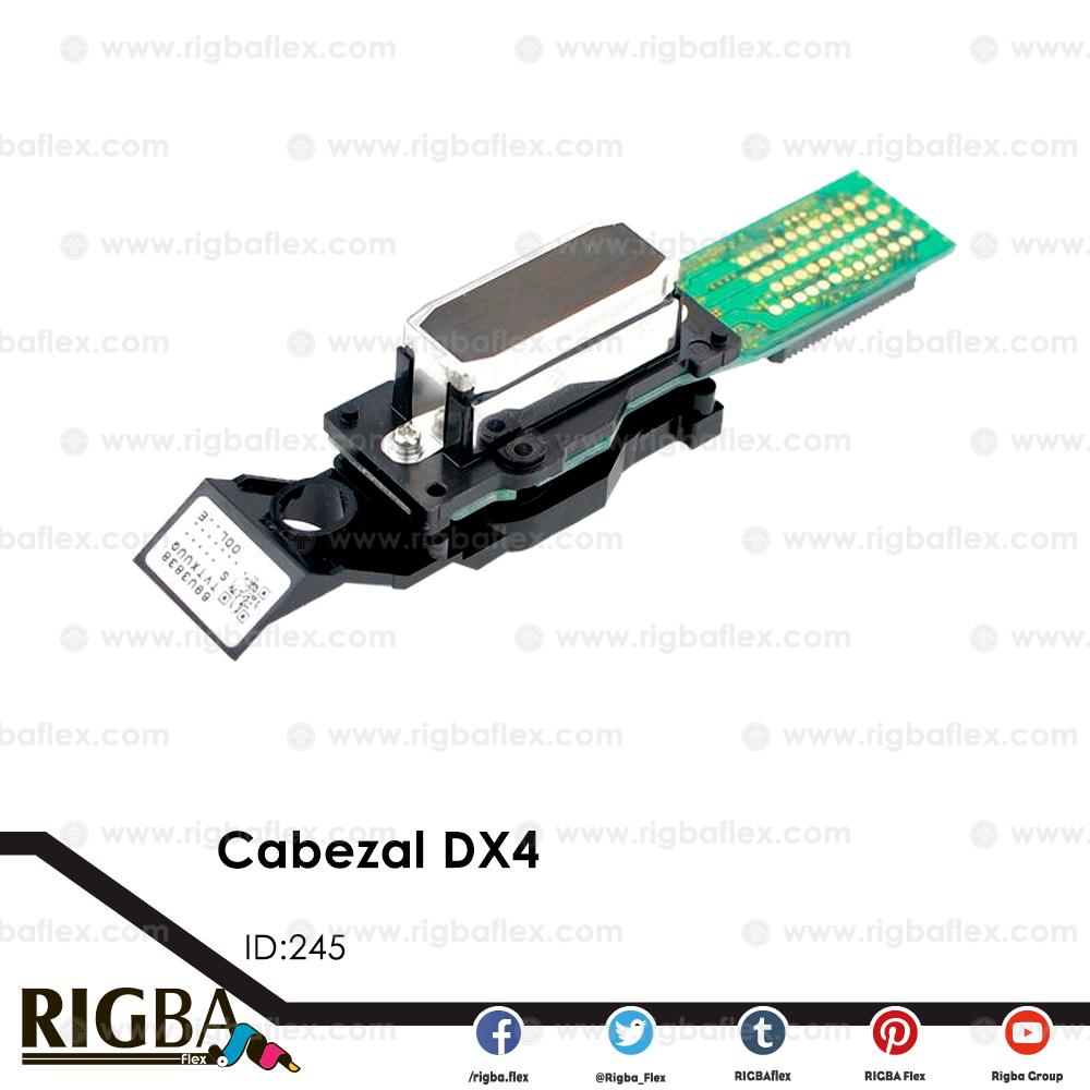 Cabezal pisoelectrico DX4