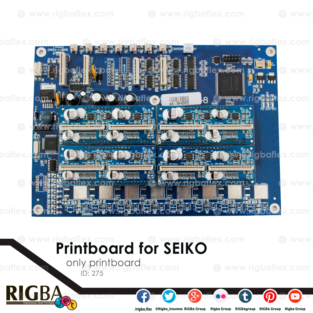 Printboard for SEIKO only printboard