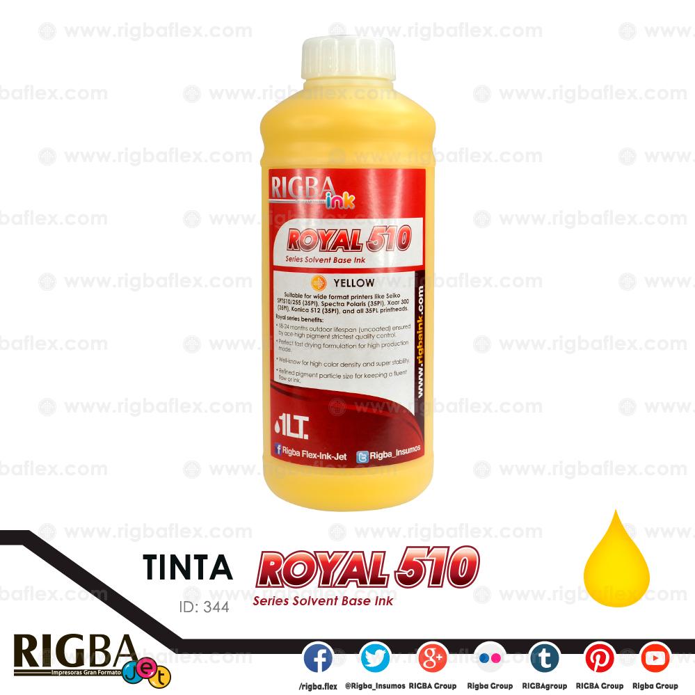 RIGBA ink Royal 510 Yellow 35pl litro