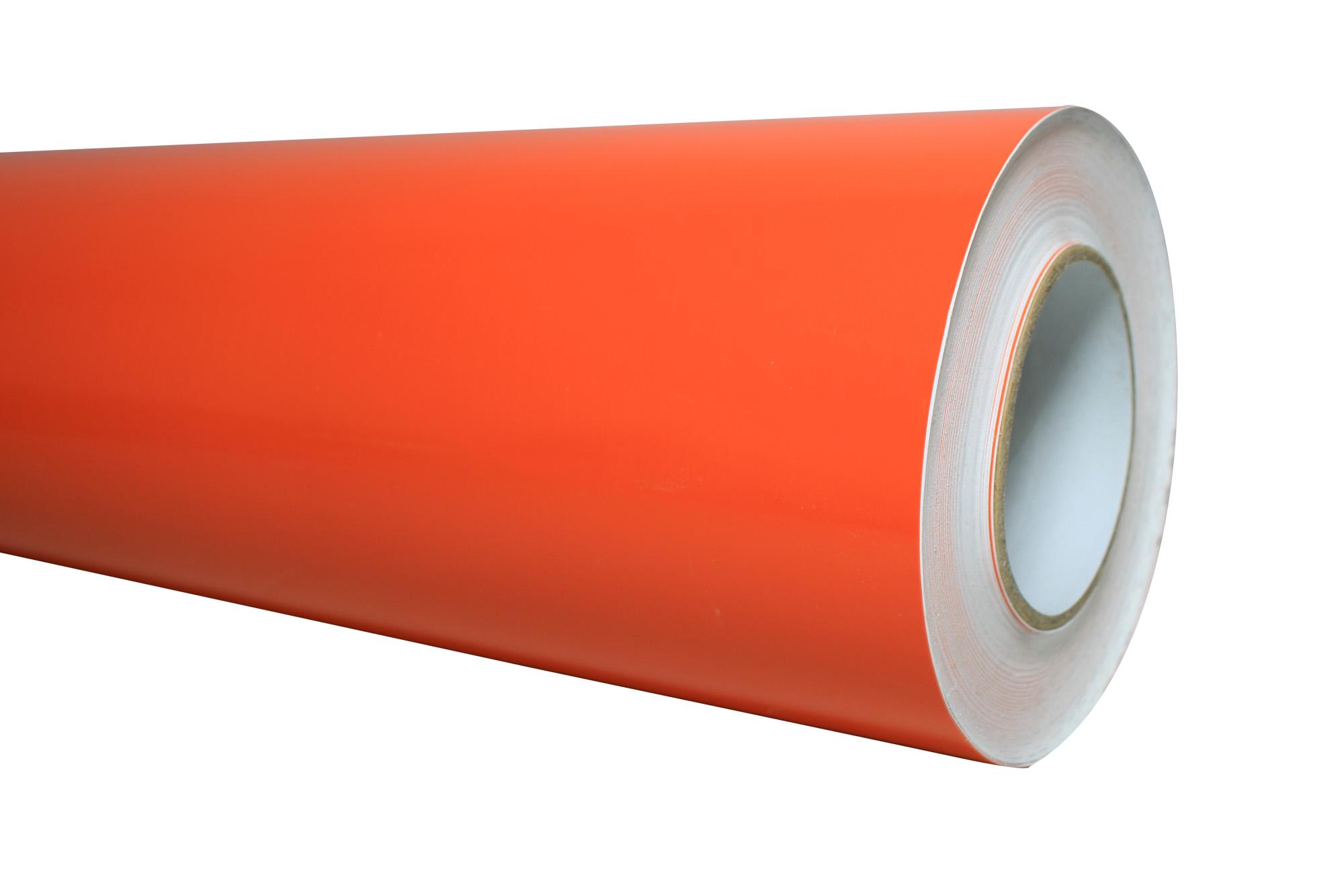(DESCONTINUADO)Vinil de Corte Rigba Orange 0 61 x 45 72m
