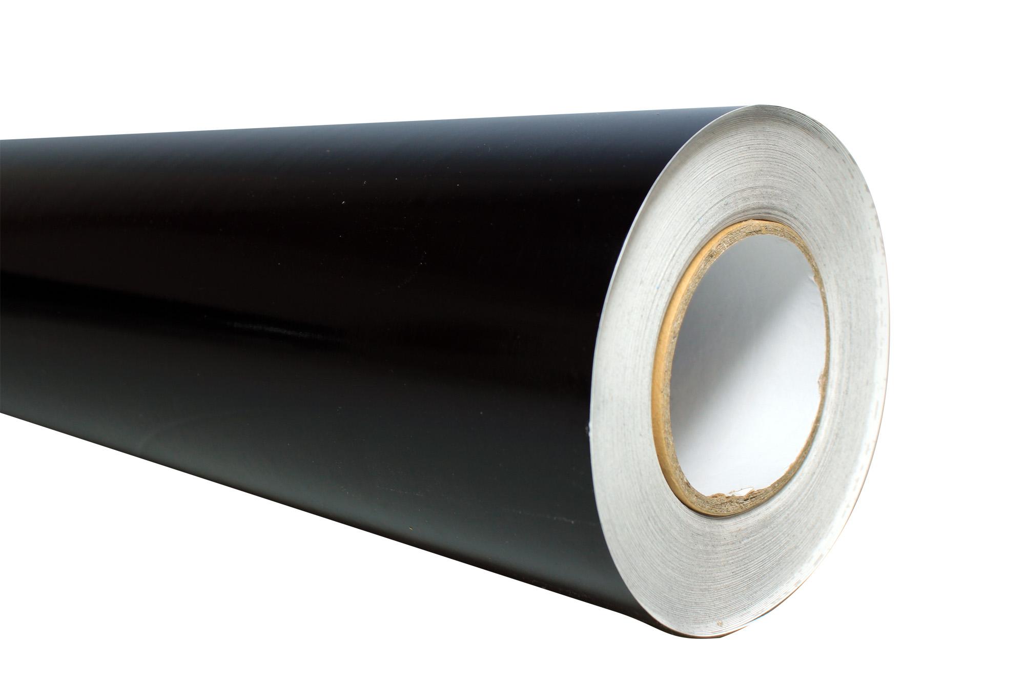 (DESCONTINUADO) Vinil de Corte Rigba Black Matte 1 22 x 45  72m