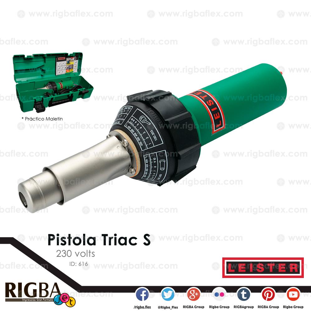 Pistola Triac S 230V 1600W  no incluye tobera ni rodillo