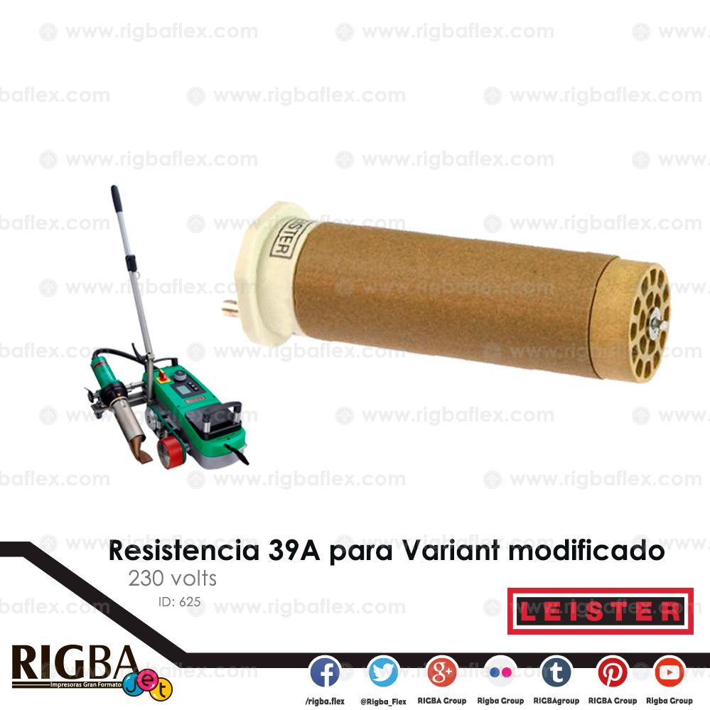 Resistencia 39A para Variant modificado rapido 230V 4900W
