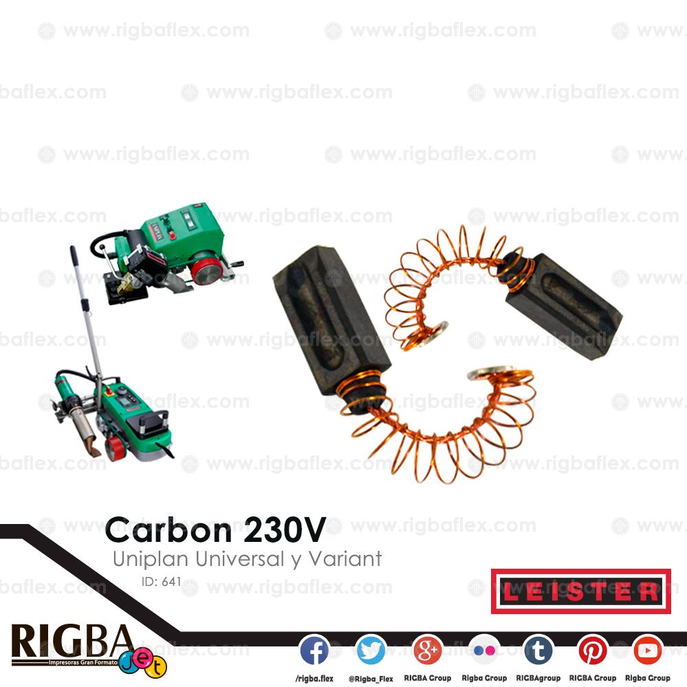 Carbon 230V para  pistola Uniplan Universal y Variant pieza no par