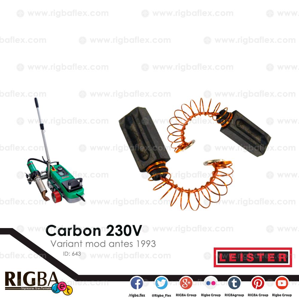 Carbon 230V para transmision Variant mod antes 1993 pieza no par