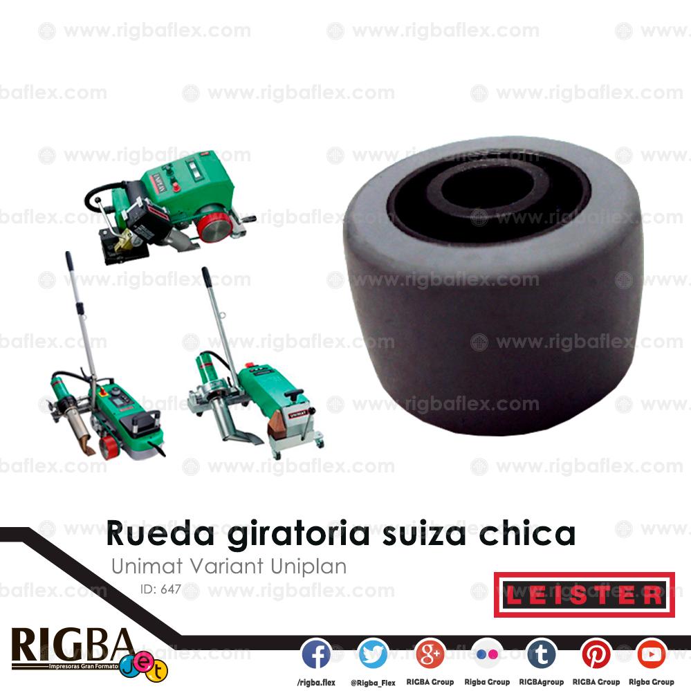 Repuesto suizo de rueda giratoria chica para Unimat Variant Uniplan