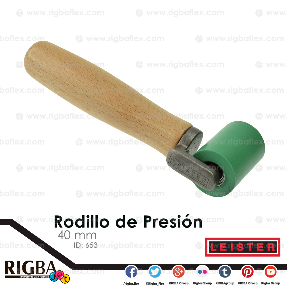 Rodillo de presion 40mm Leister