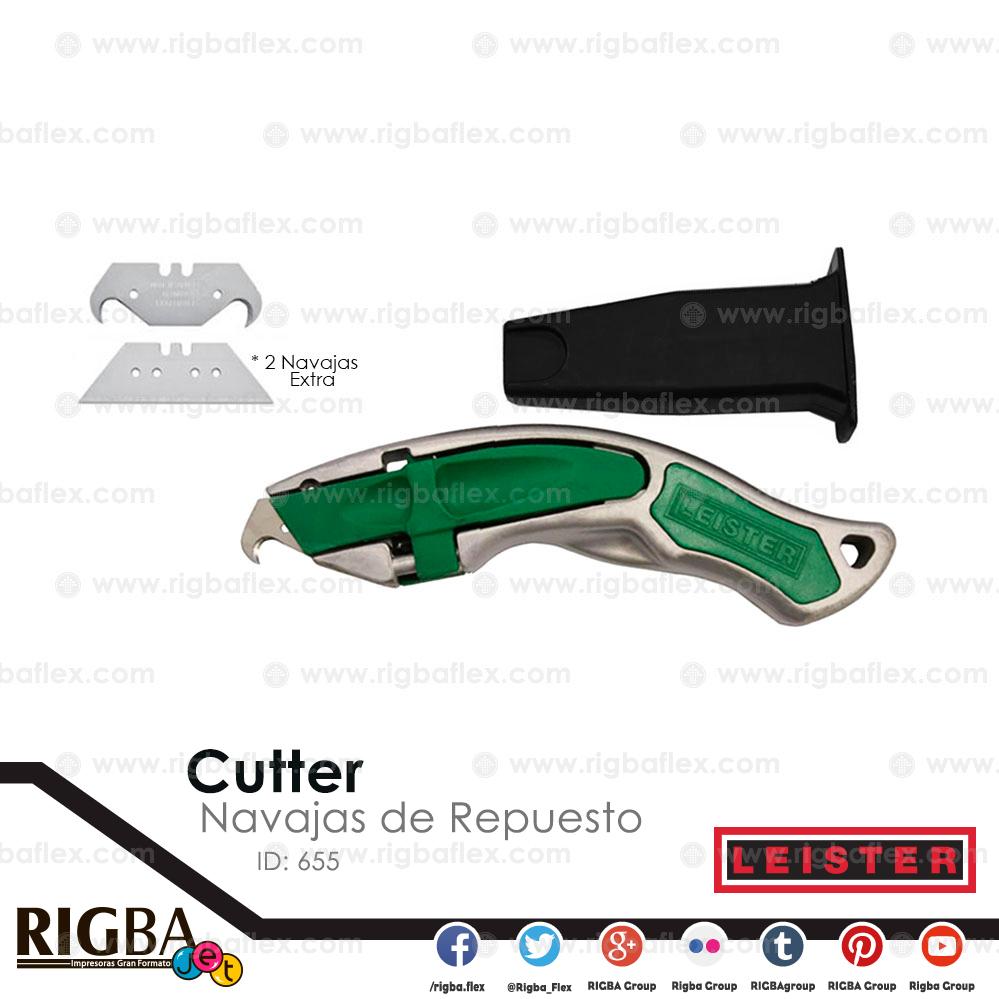 Cutter con navajas de repuesto