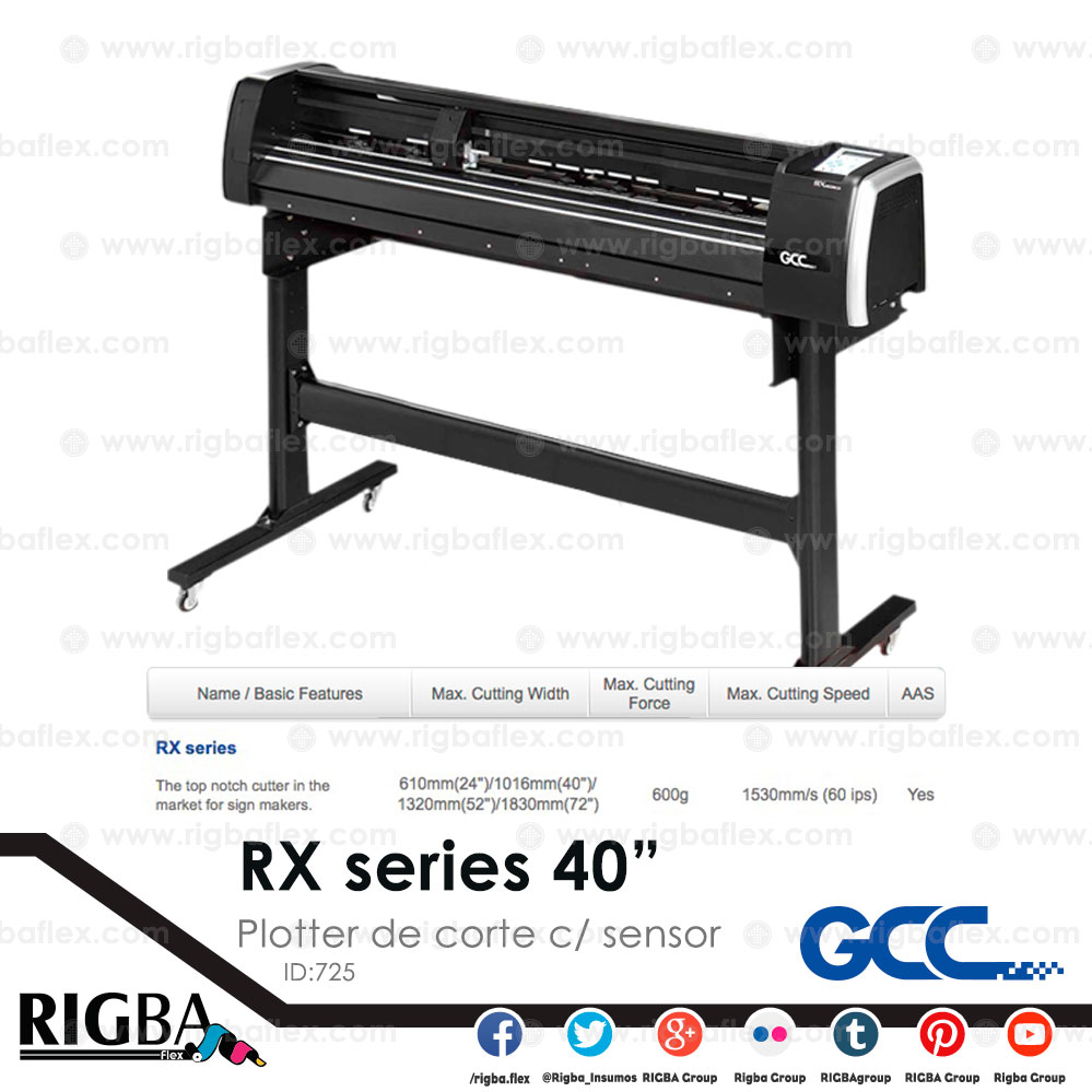 Plotter de corte RX 101S 40pulgadas