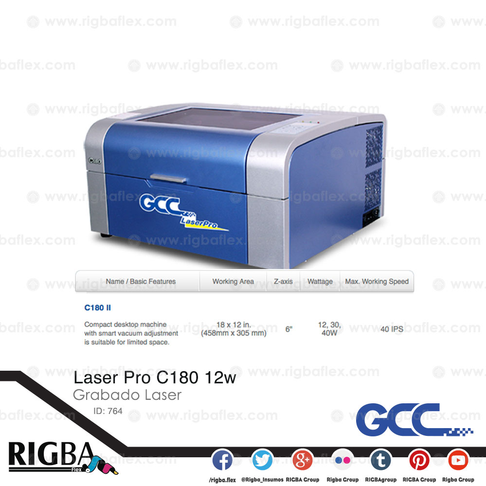 Laser Pro C180 12w