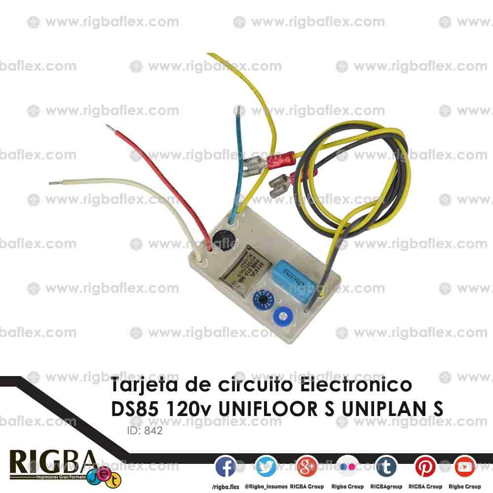 Tarjeta de circuito Electronico  DS85 120v UNIFLOOR S UNIPLAN S
