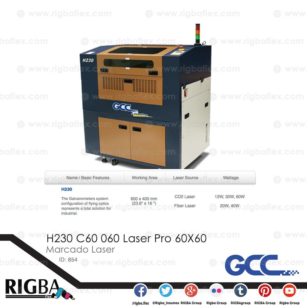 H230 C60 060 Laser Pro 60X60
