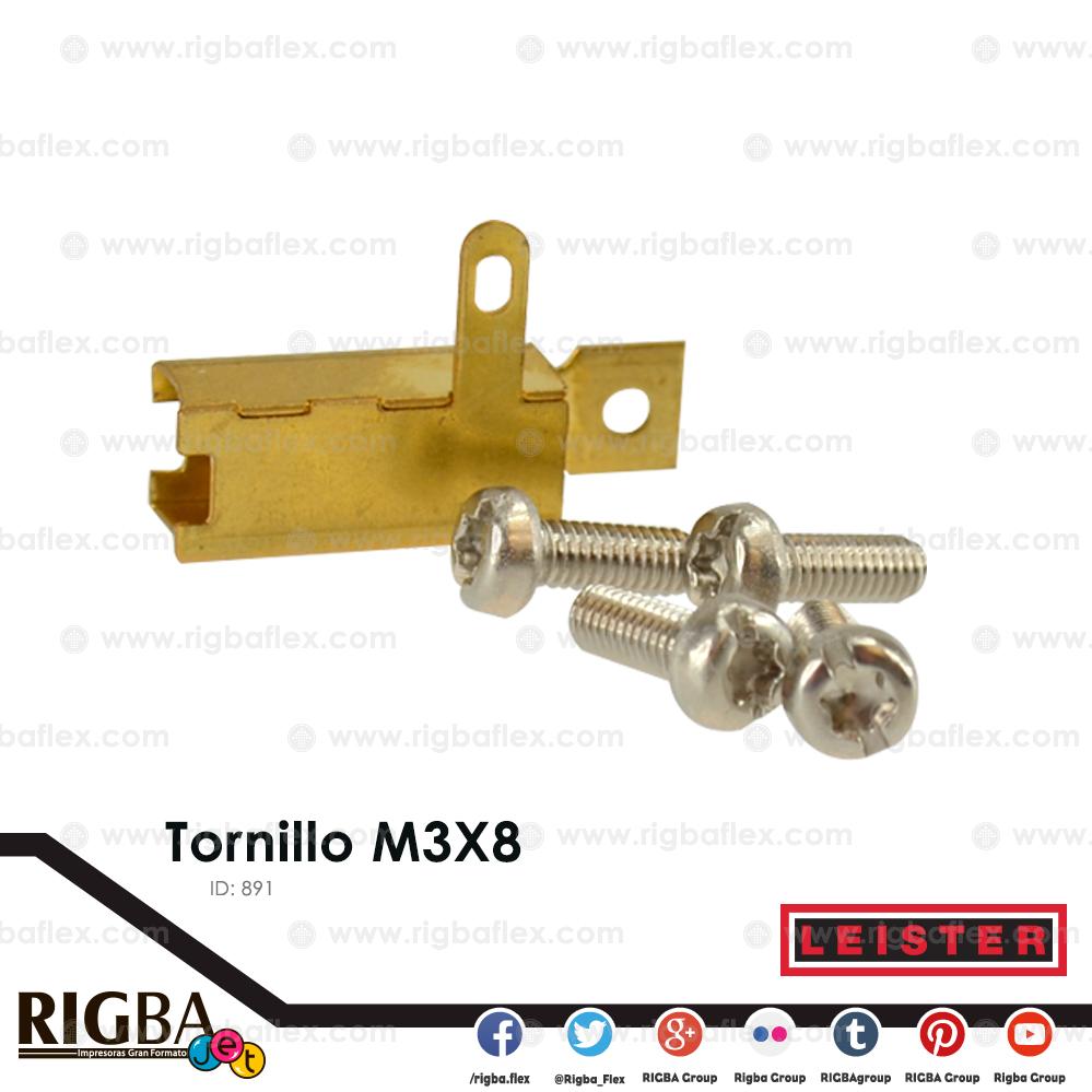 Tornillo M3X8