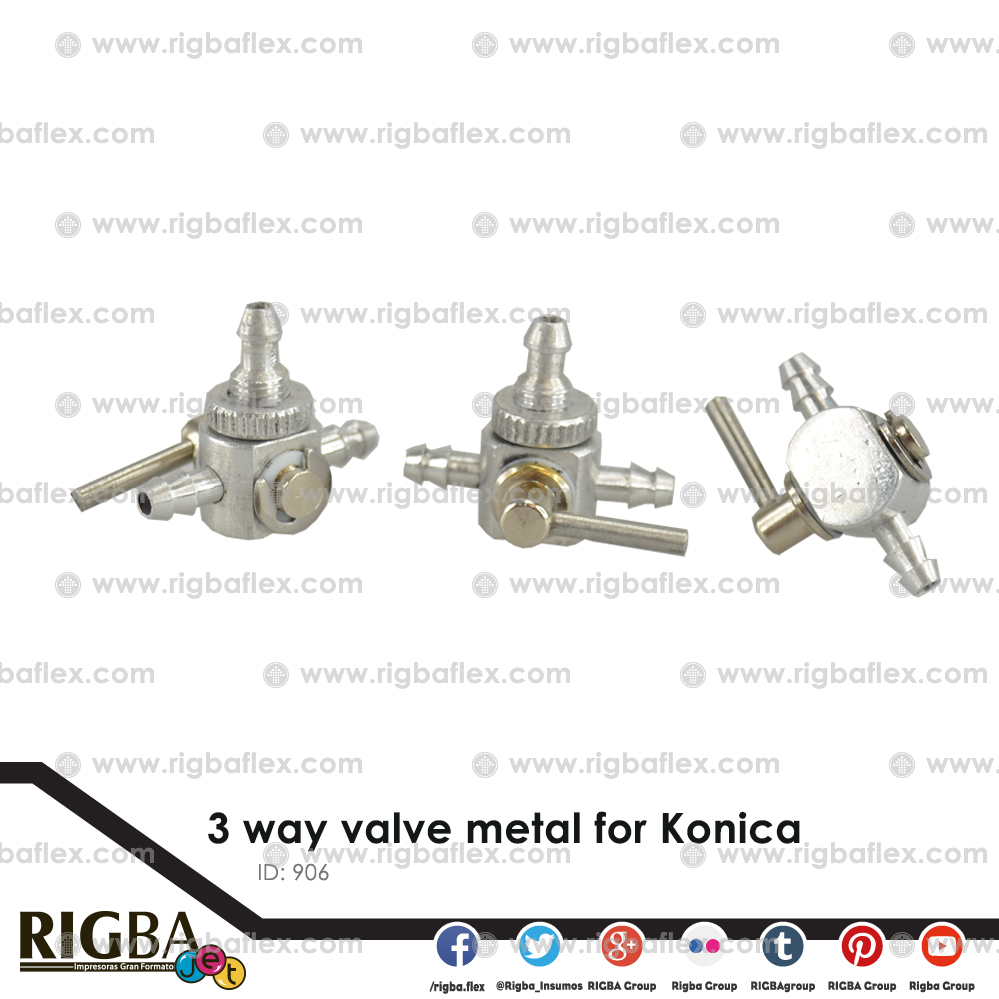 3-way valve kon