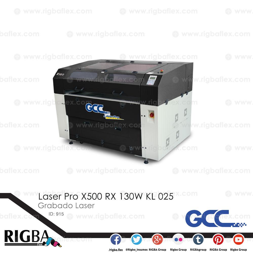 Laser Pro X500 RX 130W KL 025 4pug lens