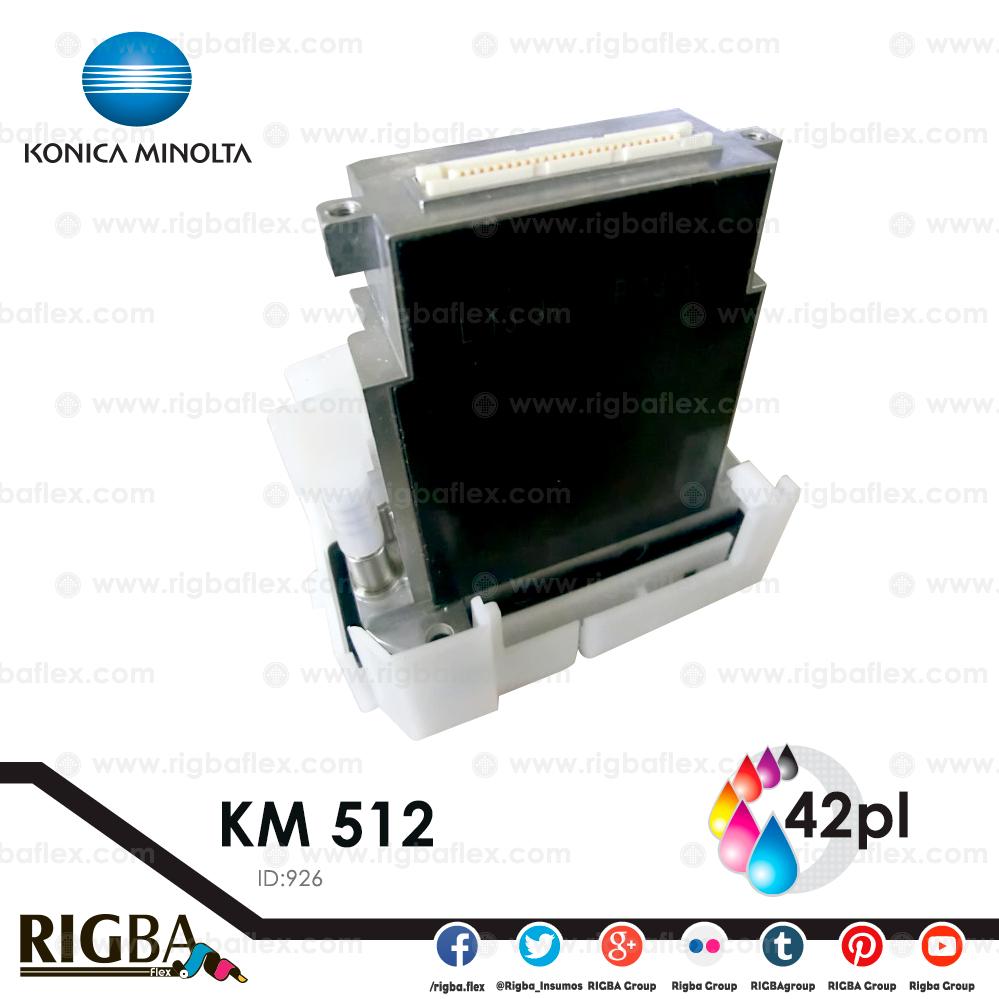 Cabezal Konica Minolta KM512 42 pl