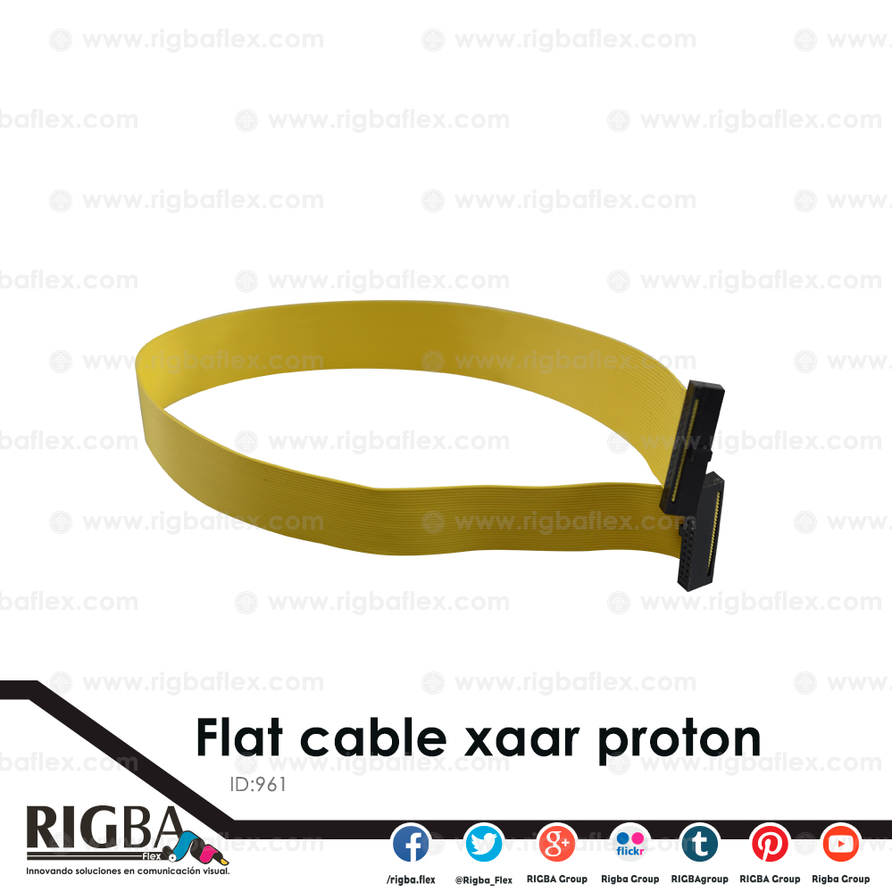 Flat cable for Xaar Proton