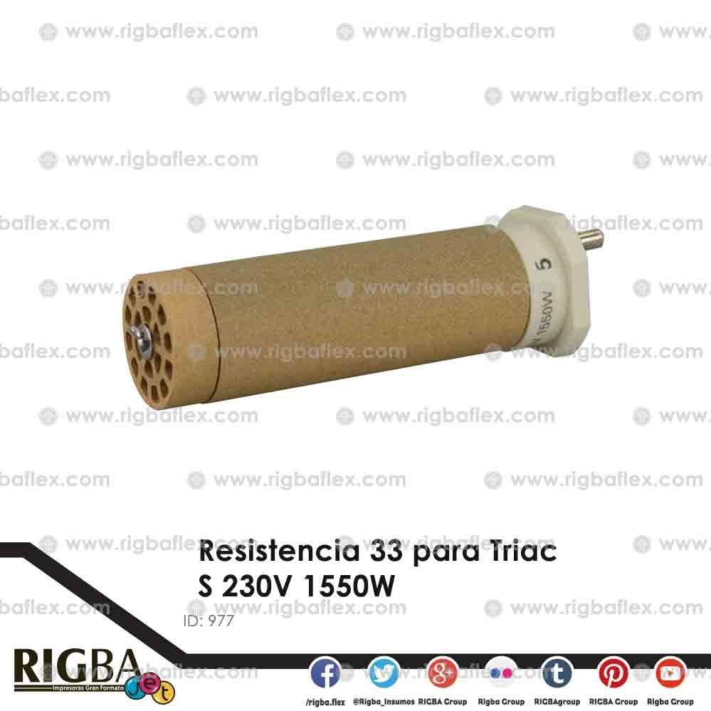 Resistencia 33 para Triac S 230V 1550W