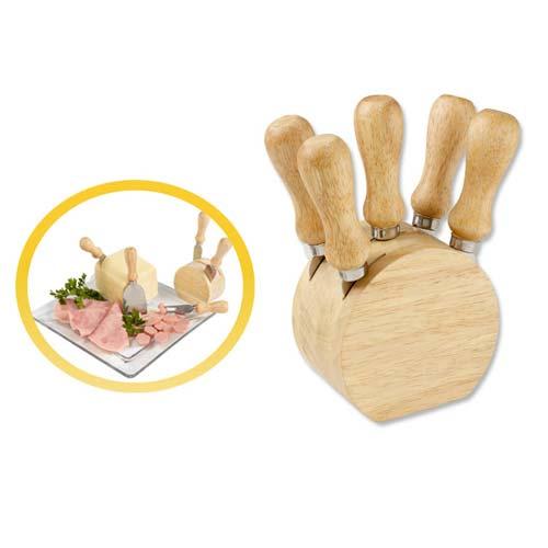 SET BILBAO(Incluye 5 accesorios de cocina.), Material: madera, medidas: 9.2 x 14.9 cm