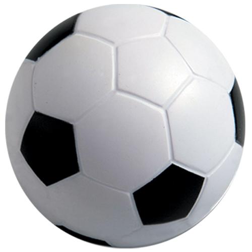 Pelota futbol Soccer, es  anti estres con forma de balon. Medidas 6 cm diametro
