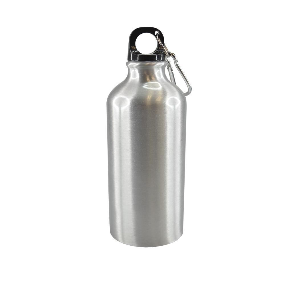 Botella para agua de aluminio/500ml.
