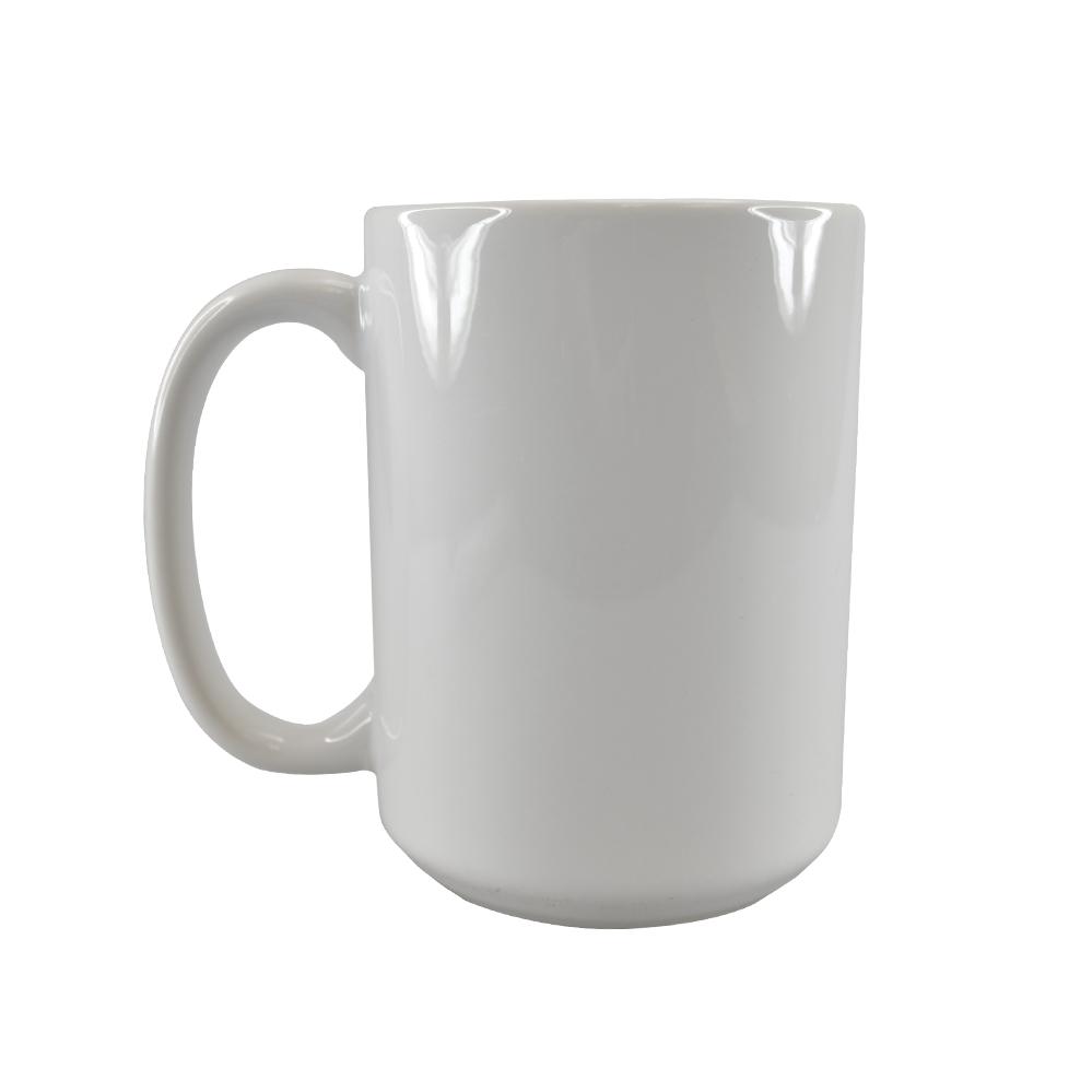 Taza para sublimacion blanca de 15oz