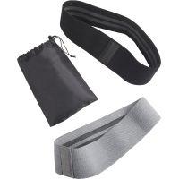 SET BANDA ELASTICA ANTI-SLIP FITNESS Material:Algod�n y poli�ster Frente:16 cm Altura:22 cm